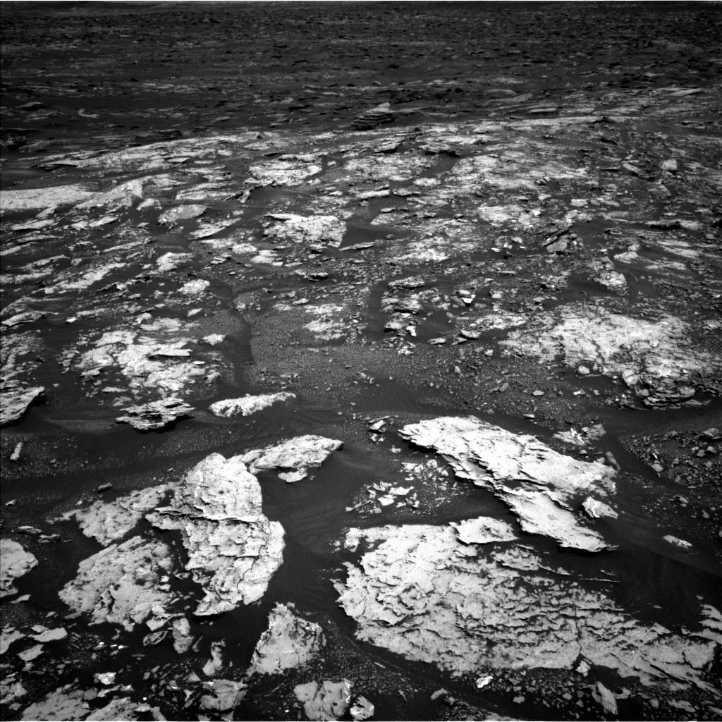 Nasa's Mars rover Curiosity acquired this image using its Left Navigation Camera on Sol 1678, at drive 2026, site number 62