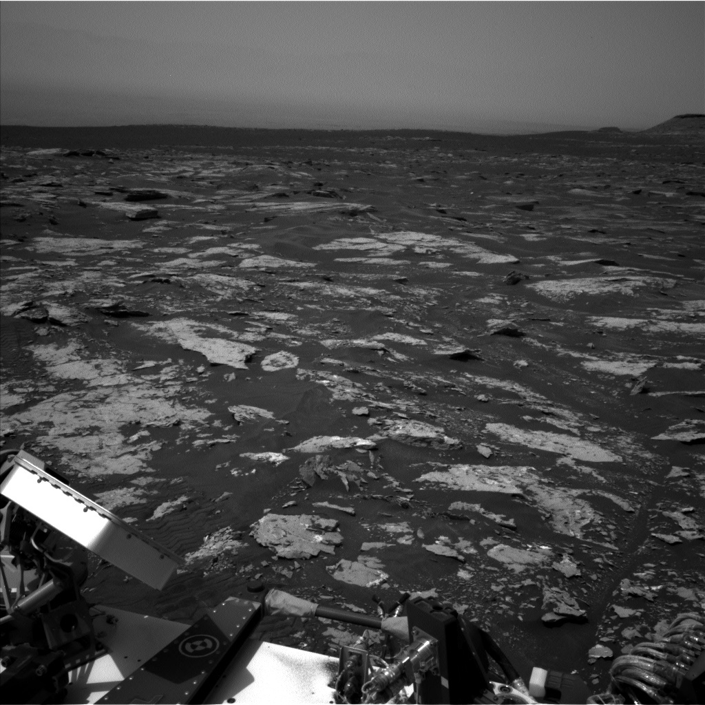 NASA's Mars rover Curiosity acquired this image using its Left Navigation Camera (Navcams) on Sol 1678