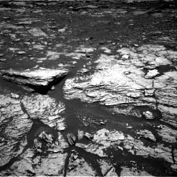 Nasa's Mars rover Curiosity acquired this image using its Right Navigation Camera on Sol 1678, at drive 1884, site number 62
