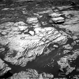 Nasa's Mars rover Curiosity acquired this image using its Right Navigation Camera on Sol 1678, at drive 1932, site number 62