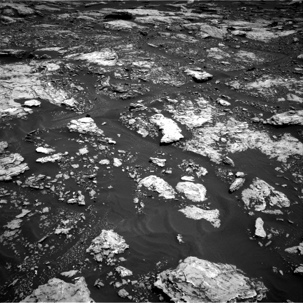 Nasa's Mars rover Curiosity acquired this image using its Right Navigation Camera on Sol 1678, at drive 1974, site number 62