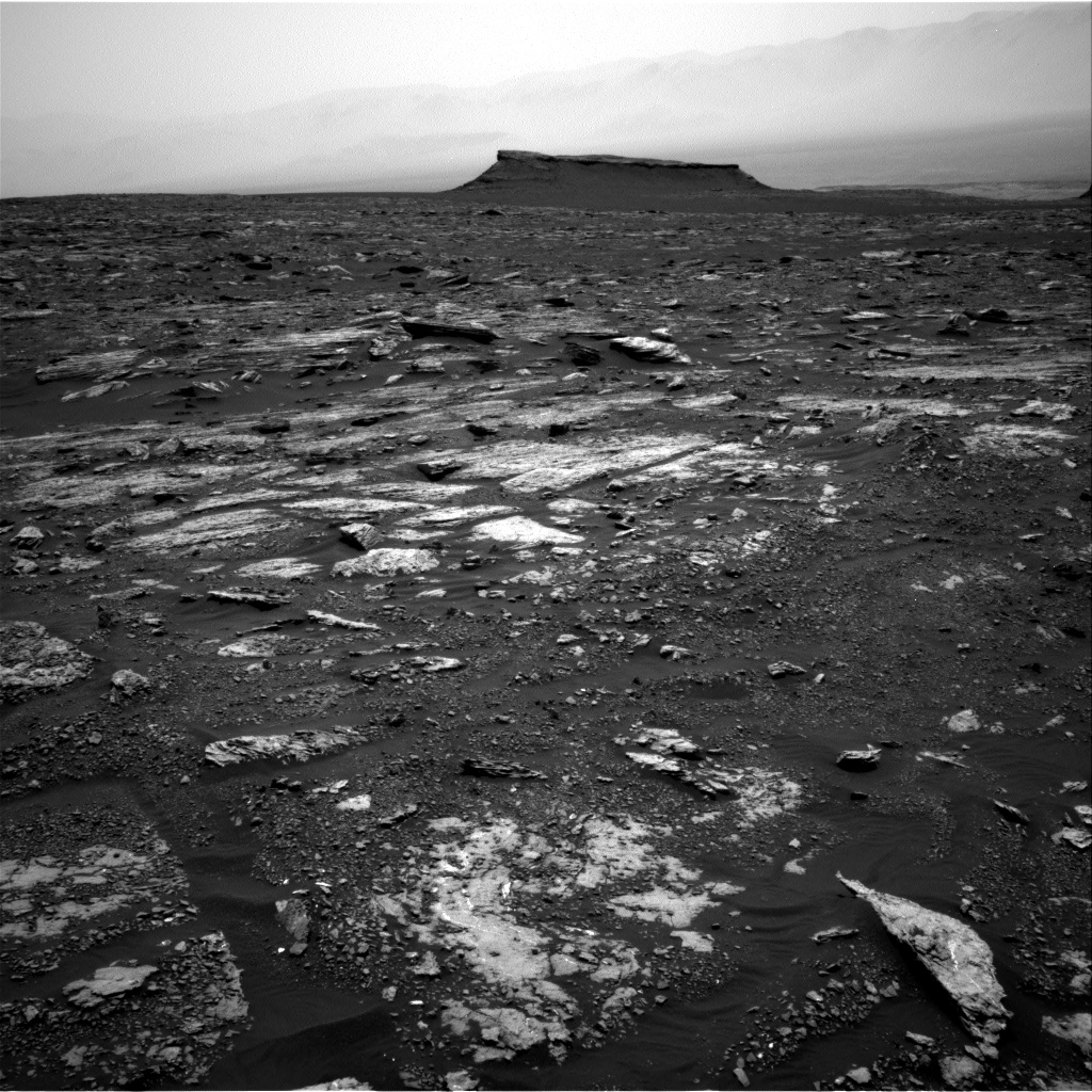 Nasa's Mars rover Curiosity acquired this image using its Right Navigation Camera on Sol 1678, at drive 2026, site number 62