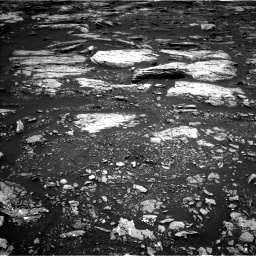Nasa's Mars rover Curiosity acquired this image using its Left Navigation Camera on Sol 1679, at drive 2056, site number 62