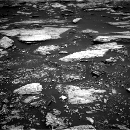Nasa's Mars rover Curiosity acquired this image using its Left Navigation Camera on Sol 1679, at drive 2098, site number 62