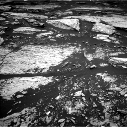 Nasa's Mars rover Curiosity acquired this image using its Left Navigation Camera on Sol 1679, at drive 2128, site number 62