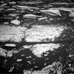 Nasa's Mars rover Curiosity acquired this image using its Left Navigation Camera on Sol 1679, at drive 2134, site number 62