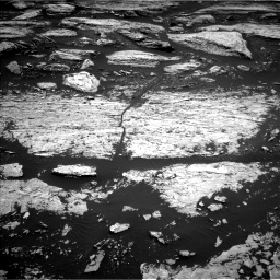 Nasa's Mars rover Curiosity acquired this image using its Left Navigation Camera on Sol 1679, at drive 2140, site number 62