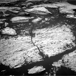 Nasa's Mars rover Curiosity acquired this image using its Left Navigation Camera on Sol 1679, at drive 2164, site number 62