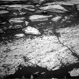 Nasa's Mars rover Curiosity acquired this image using its Left Navigation Camera on Sol 1679, at drive 2170, site number 62