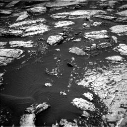 Nasa's Mars rover Curiosity acquired this image using its Left Navigation Camera on Sol 1679, at drive 2182, site number 62
