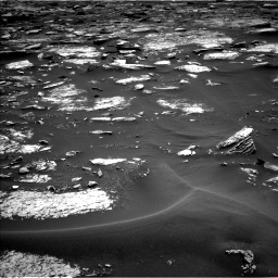 NASA's Mars rover Curiosity acquired this image using its Left Navigation Camera (Navcams) on Sol 1679