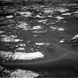 Nasa's Mars rover Curiosity acquired this image using its Left Navigation Camera on Sol 1679, at drive 2248, site number 62