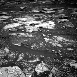 Nasa's Mars rover Curiosity acquired this image using its Right Navigation Camera on Sol 1679, at drive 2026, site number 62