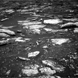 Nasa's Mars rover Curiosity acquired this image using its Right Navigation Camera on Sol 1679, at drive 2068, site number 62