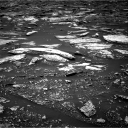 Nasa's Mars rover Curiosity acquired this image using its Right Navigation Camera on Sol 1679, at drive 2080, site number 62