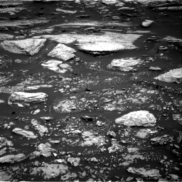 Nasa's Mars rover Curiosity acquired this image using its Right Navigation Camera on Sol 1679, at drive 2110, site number 62