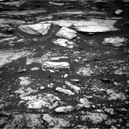 Nasa's Mars rover Curiosity acquired this image using its Right Navigation Camera on Sol 1679, at drive 2116, site number 62