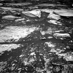 Nasa's Mars rover Curiosity acquired this image using its Right Navigation Camera on Sol 1679, at drive 2128, site number 62