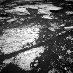 Nasa's Mars rover Curiosity acquired this image using its Right Navigation Camera on Sol 1679, at drive 2158, site number 62