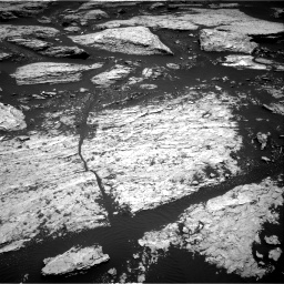 Nasa's Mars rover Curiosity acquired this image using its Right Navigation Camera on Sol 1679, at drive 2164, site number 62