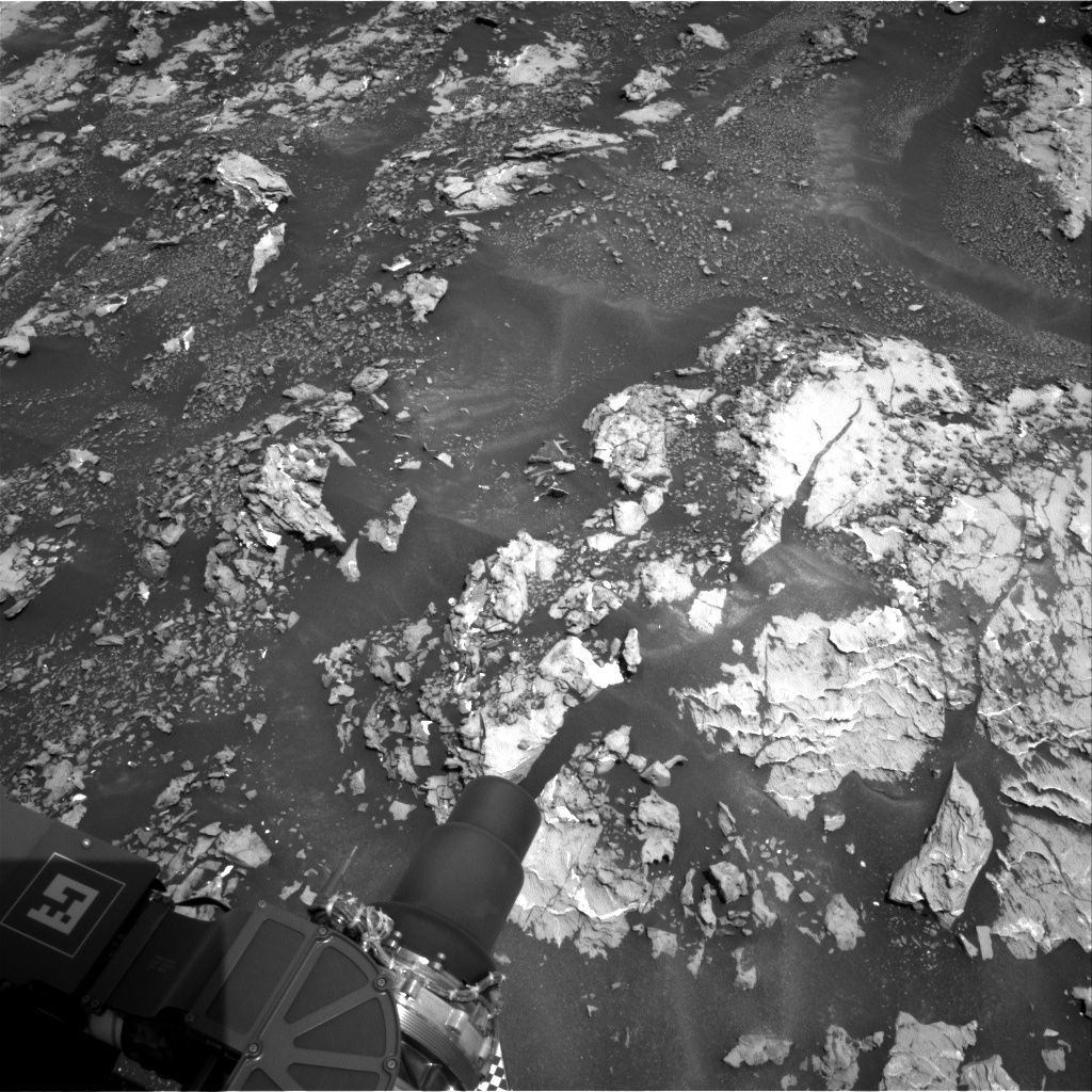 Nasa's Mars rover Curiosity acquired this image using its Right Navigation Camera on Sol 1679, at drive 2248, site number 62