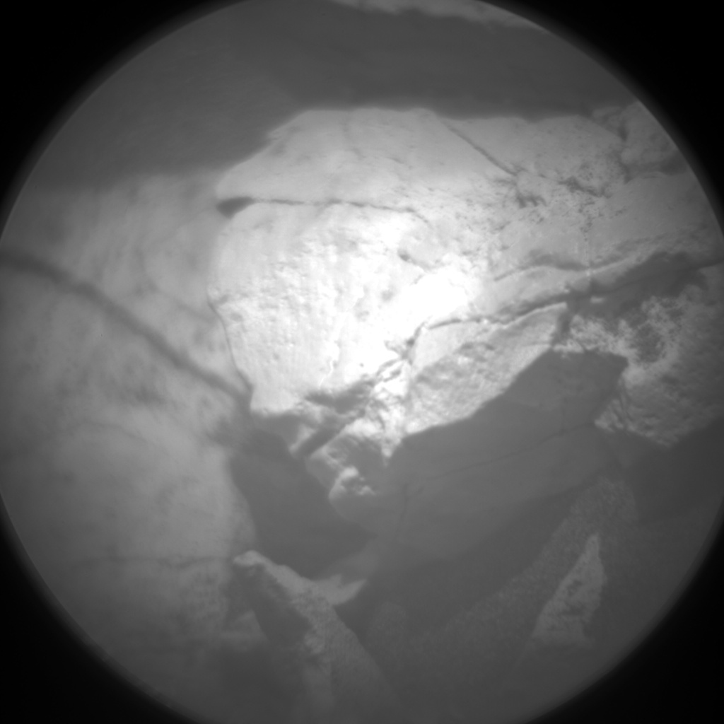 Nasa's Mars rover Curiosity acquired this image using its Chemistry & Camera (ChemCam) on Sol 1680, at drive 2248, site number 62