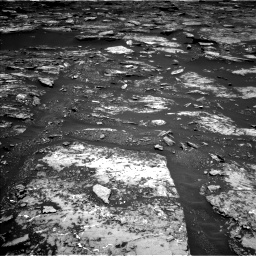 Nasa's Mars rover Curiosity acquired this image using its Left Navigation Camera on Sol 1680, at drive 2266, site number 62