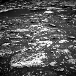 Nasa's Mars rover Curiosity acquired this image using its Left Navigation Camera on Sol 1680, at drive 2302, site number 62