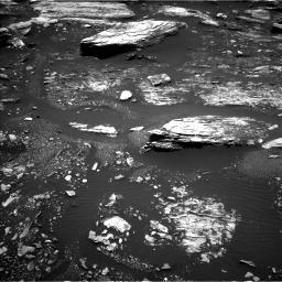 Nasa's Mars rover Curiosity acquired this image using its Left Navigation Camera on Sol 1680, at drive 2380, site number 62