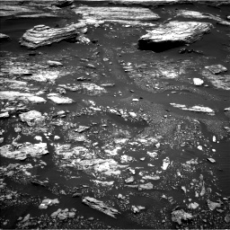 NASA's Mars rover Curiosity acquired this image using its Left Navigation Camera (Navcams) on Sol 1680