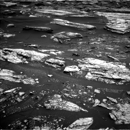 Nasa's Mars rover Curiosity acquired this image using its Left Navigation Camera on Sol 1680, at drive 2422, site number 62