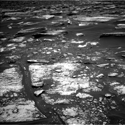 Nasa's Mars rover Curiosity acquired this image using its Left Navigation Camera on Sol 1680, at drive 2446, site number 62