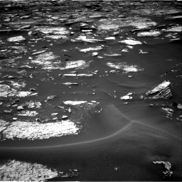 Nasa's Mars rover Curiosity acquired this image using its Right Navigation Camera on Sol 1680, at drive 2248, site number 62