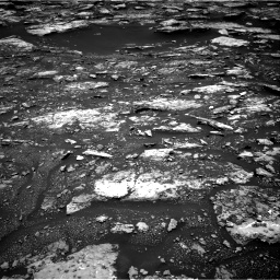 Nasa's Mars rover Curiosity acquired this image using its Right Navigation Camera on Sol 1680, at drive 2314, site number 62