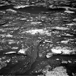 Nasa's Mars rover Curiosity acquired this image using its Right Navigation Camera on Sol 1680, at drive 2320, site number 62