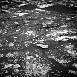 Nasa's Mars rover Curiosity acquired this image using its Right Navigation Camera on Sol 1680, at drive 2344, site number 62