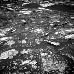Nasa's Mars rover Curiosity acquired this image using its Right Navigation Camera on Sol 1680, at drive 2350, site number 62