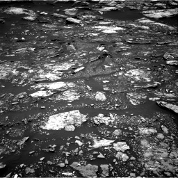 Nasa's Mars rover Curiosity acquired this image using its Right Navigation Camera on Sol 1680, at drive 2356, site number 62