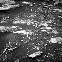 Nasa's Mars rover Curiosity acquired this image using its Right Navigation Camera on Sol 1680, at drive 2368, site number 62