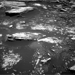 Nasa's Mars rover Curiosity acquired this image using its Right Navigation Camera on Sol 1680, at drive 2374, site number 62