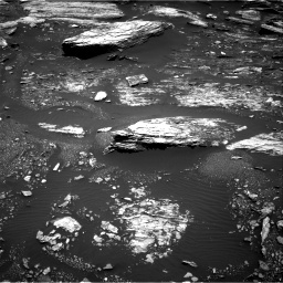 Nasa's Mars rover Curiosity acquired this image using its Right Navigation Camera on Sol 1680, at drive 2380, site number 62