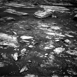 Nasa's Mars rover Curiosity acquired this image using its Right Navigation Camera on Sol 1680, at drive 2410, site number 62