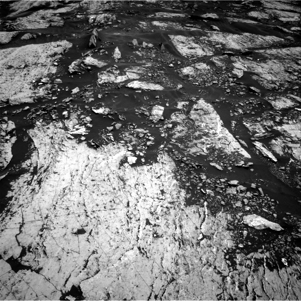 Nasa's Mars rover Curiosity acquired this image using its Right Navigation Camera on Sol 1680, at drive 2416, site number 62