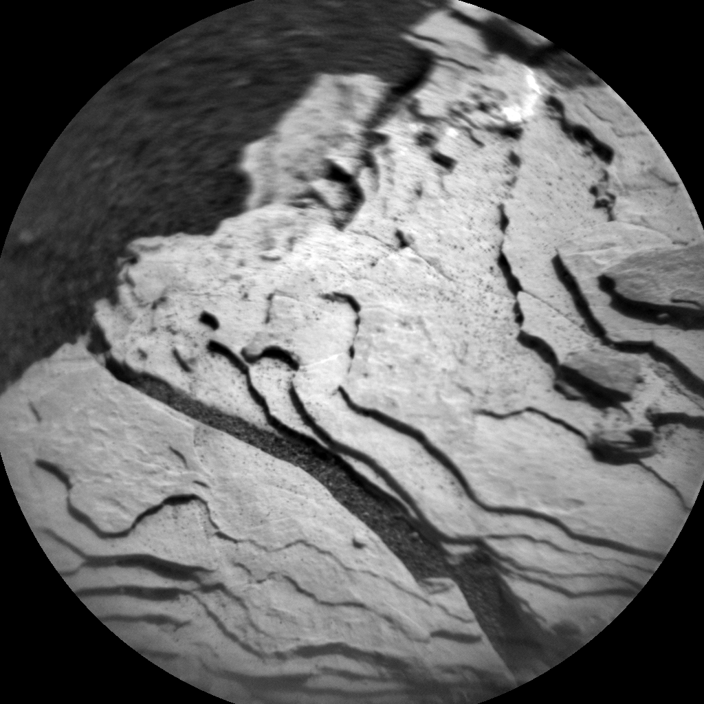Nasa's Mars rover Curiosity acquired this image using its Chemistry & Camera (ChemCam) on Sol 1680, at drive 2452, site number 62