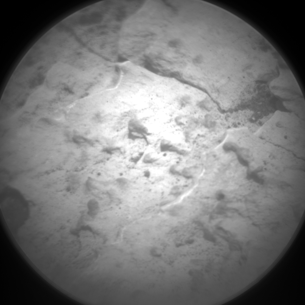 Nasa's Mars rover Curiosity acquired this image using its Chemistry & Camera (ChemCam) on Sol 1681, at drive 2452, site number 62