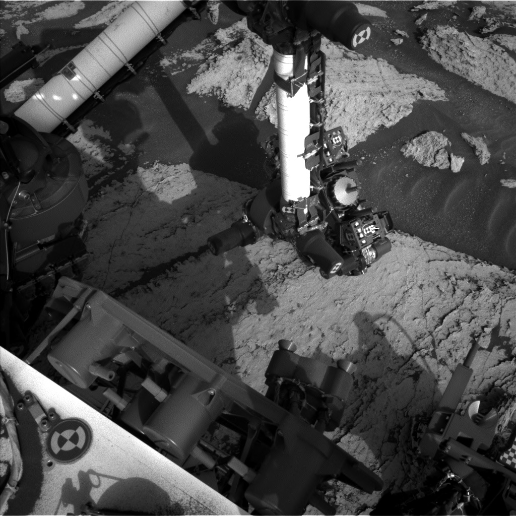 Nasa's Mars rover Curiosity acquired this image using its Left Navigation Camera on Sol 1681, at drive 2452, site number 62