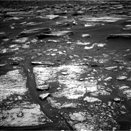 Nasa's Mars rover Curiosity acquired this image using its Left Navigation Camera on Sol 1682, at drive 2452, site number 62
