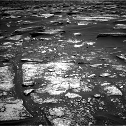Nasa's Mars rover Curiosity acquired this image using its Left Navigation Camera on Sol 1682, at drive 2458, site number 62