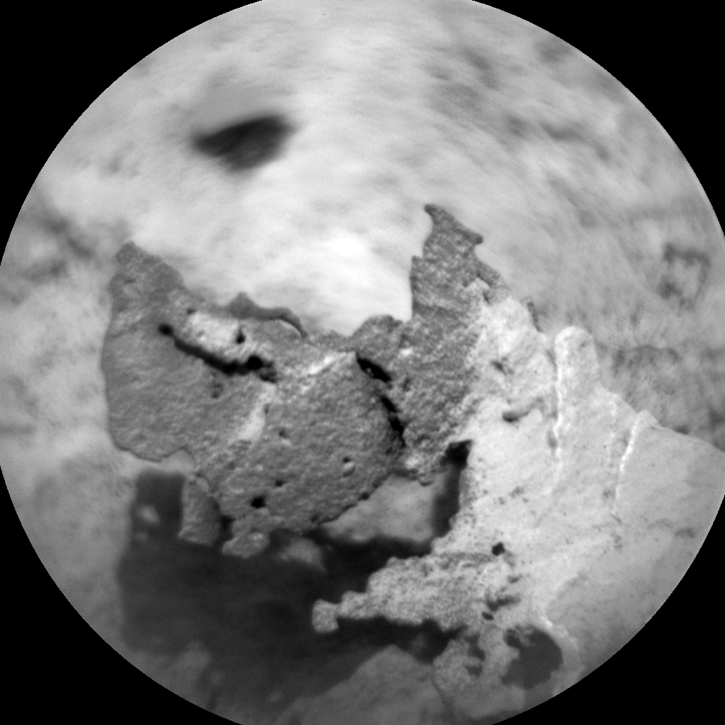 Nasa's Mars rover Curiosity acquired this image using its Chemistry & Camera (ChemCam) on Sol 1682, at drive 2452, site number 62
