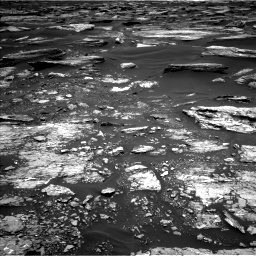 Nasa's Mars rover Curiosity acquired this image using its Left Navigation Camera on Sol 1683, at drive 2476, site number 62